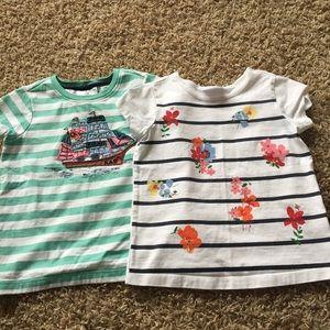 HANNA ANDERSSON 100 size 4 Short Sleeve Shirt